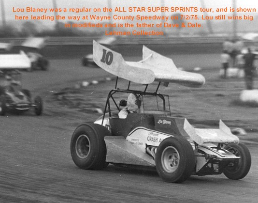 All Star Sprints >> The Forgotten Series - Doc Lehman